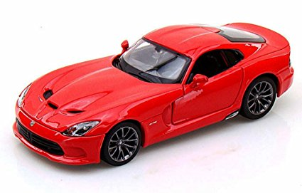 1/24 2013 SRT VIPER GTS RED METALLIC