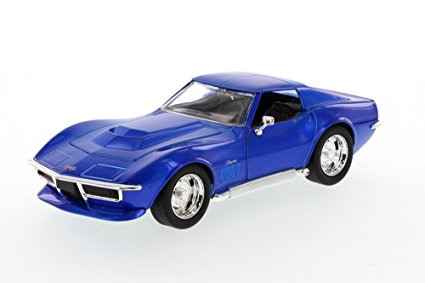 1/24 1963 CHEVY CORVETTE STING RAY BLUE BIGTIME MUSCLE