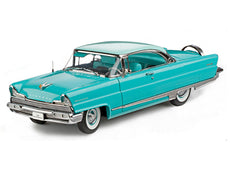 1/18 1956 LINCOLN PREMIERE HARD TOP (TAOS TURQUOISE/SUMMIT GREEN)