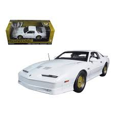 1/18 PONTIAC TRANS AM TTA 1989 WHITE.