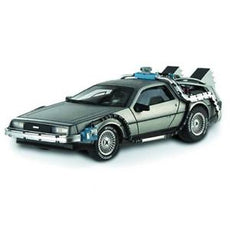 1/18 BACK TO THE FUTURE 2 TIME FUSION HERITAGE SILVER