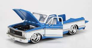 1/24 1972 CHEVY CHIYENNE BLUE BIGTIME KUSTOMS
