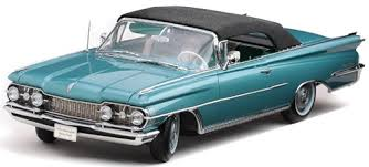 1/181959 OLDSMOBILE 98 HARD TOP FRAST BLUE/WHITE