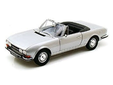 1/18 PEUGOT 504 COUPE 1971 SILVER