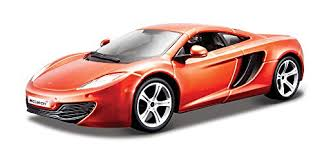 1/24 MCLAREN MP4-12C YELLOW/BRONZE