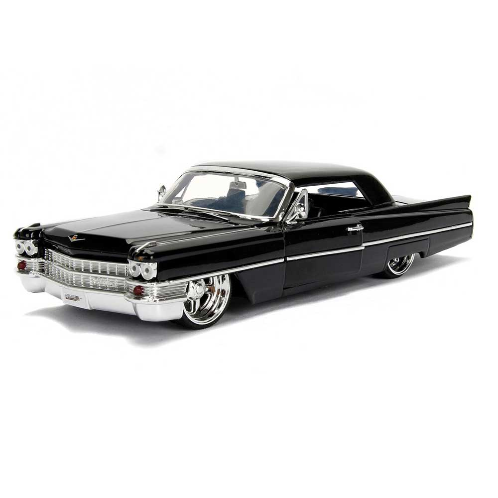 1/24 1963 CADILLAC BLACK BIGTIME KUSTOMS