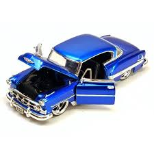 1/24 1955 CHEVY BEL AIR BLUE BIGTIME KUSTOMS