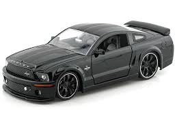 1/24 2008 FORD SHELBY GT-500KR BLACK BIGTIME KUSTOMS