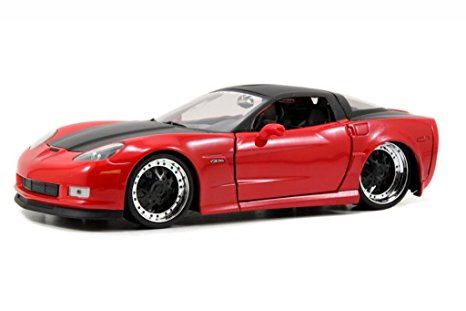 1/24 2006 CHEVY CORVETTE 206 RED BIGTIME MUSCLE