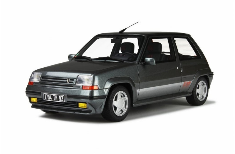 1/18 RENAULT 5 GT TURBO-GRISE 1987 GREY