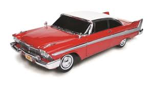 1/18 1958 PLYMOUTH FURY RED