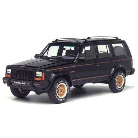 1/18 JEEP CHEROKEE LIMITED BLACK 1992