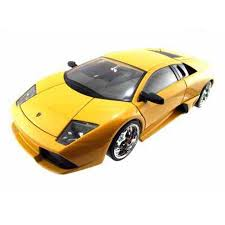 1/24 LAMBORGHINI MUSCIELAGO LP640 YELLOW BIGTIME KUSTOMS
