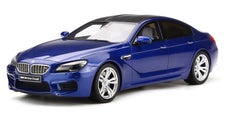 2016 BMW M6 GRAN COUPE SAN MARINO BLUE