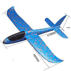 Chuckie Hand Launch Glider (480mm) BLUE