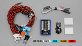 1/10 & 1/18 LED Flashing Head Light System Kit 4.8-6.0V