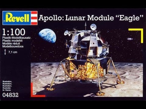 1/48 APOLLO LUNAR MODULE EAGLE
