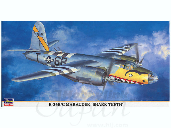 "1/72 B-26B/C MARAUDER ""SHARK TEETH"""
