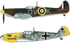 1/72 SPITFIRE MK.I & MESSERSCHMITT BF109E 'BATTLE OF BRITAIN'