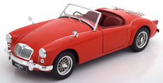 1957 MGA MKI A1500 open convertible with Luggage Rack. red