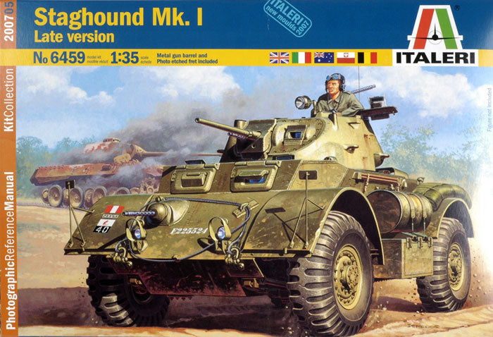 1/35 STAGHOUND MK.I LATE VERSION