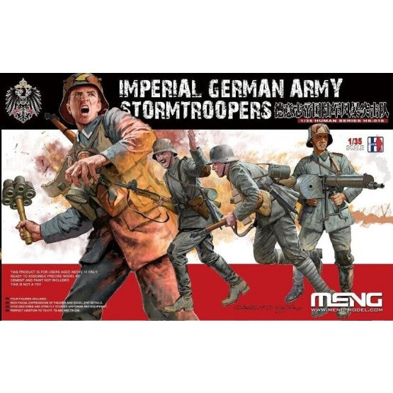 1/35 Imperial German Army Stormtroopers