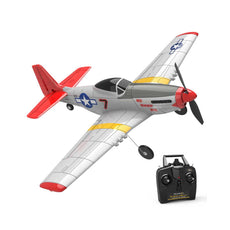 Mustang P-51D 750mm Wingspan EPO Warbird RC Airplane RTF