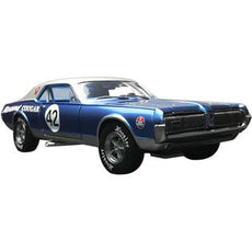 1/18 SUNSTAR 1967 Mercury Cougar Racing #42 Northwoods Shelby Club (2011) Diecast Model Car by SunStar