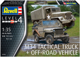 M34 TACTICAL TRUCK & OFFROAD VEHICLE 1/35