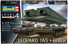 "LEOPARD 1A5 & BRIDGELAYER ""BIBER"" 1/72"