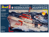 1/200 SEENOTKREUZER SEARCH & RESCUE VESSEL HERMAN MORWEDE