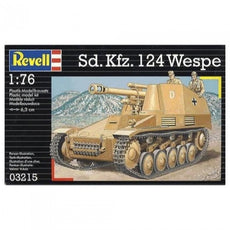 SD. KFZ. 124 WESPE WITH DIORAMA BASE 1/76