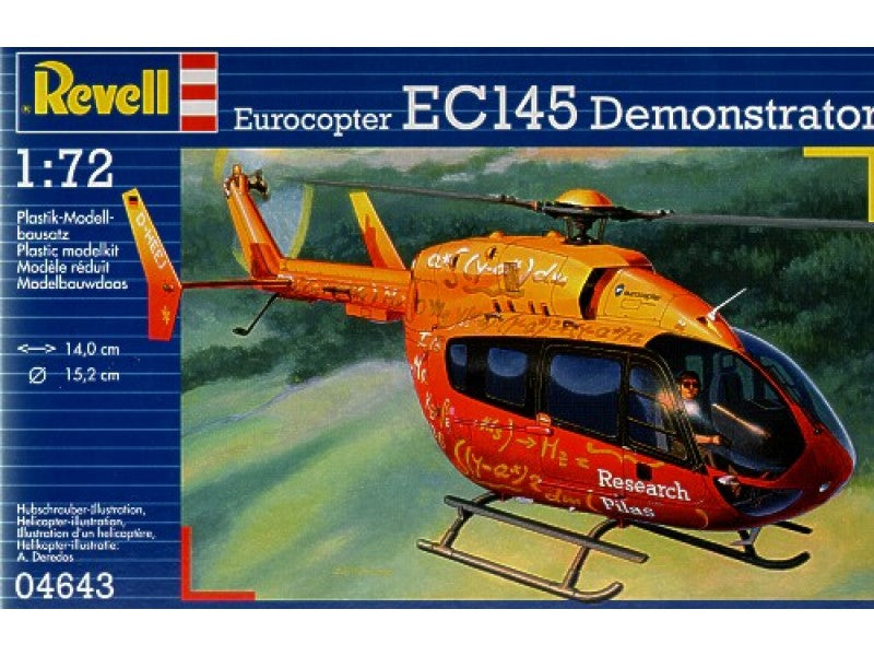 1/72 EUROCOPTER EC145 DEMONSTRATOR