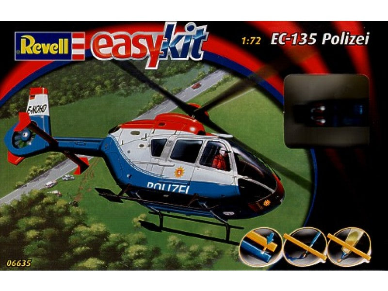 1/72 EC-135 POLIZEI EASY KIT
