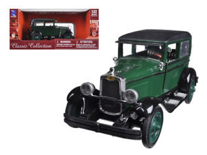 1/32 1928 CHEVY IMPERIAL LANAN 4 DOOR GREEN