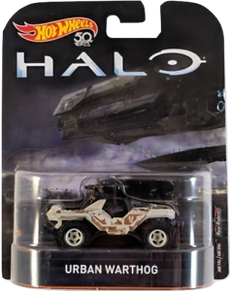 1/64 Hot Wheels Retro Entertainment Halo Urban Warthog