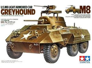 Tamiya - 1/35 U.S. M8 Light Armoured Car - Greyhound