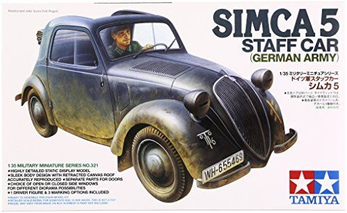 1/35 SIMCA 5 STAFF CAR (GERMAN ARMY) NO. 321