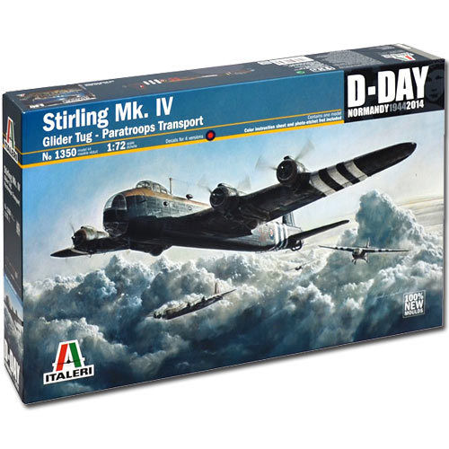 1/72 STIRLING MK.IV GLIDER TUG-PARATROOPS TRANSPORT