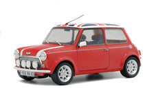 1/18 MINI COOPER SPORT - RED & ENGLISH FLAG - 1997