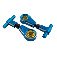 Aluminum Adjustable Front Upper Arm Set For TT02