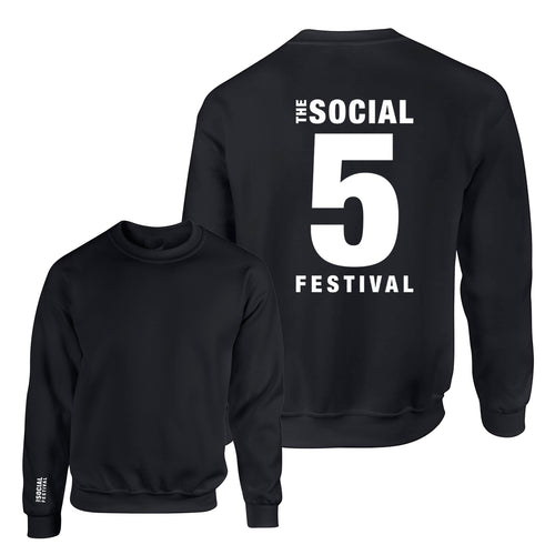5th Anniversary Oversized Sweatshirt