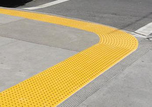 Detectable Warning Surface Applied Truncated Dome RADIUS, by ADA Solutions - Detectable Warning Panels