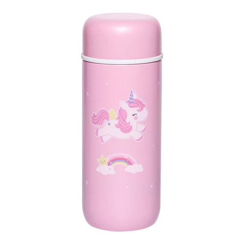 A LITTLE LOVELY COMPANY - Insulated Stainless Steel Drink Bottle Unicorn - Tablewear - Bambinista