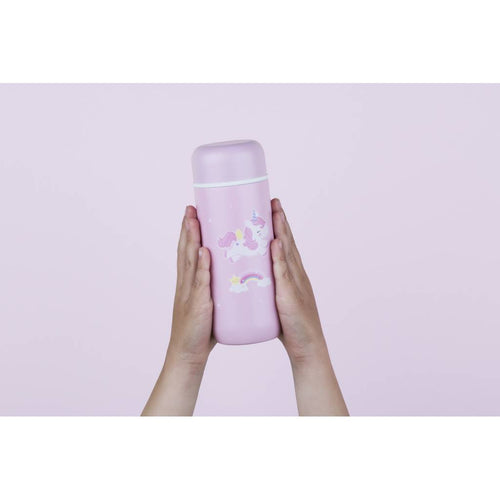 Bambinista - A LITTLE LOVELY COMPANY -Tablewear - Insulated Stainless Steel Drink Bottle Unicorn