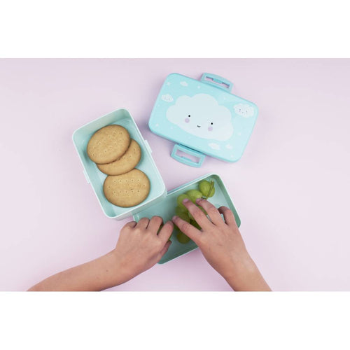BAMBINISTA - A LITTLE LOVELY COMPANY - Tablewear - Lunch Box Cloud