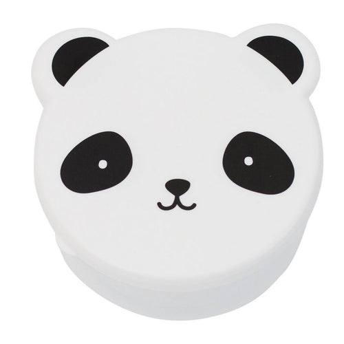 BAMBINISTA - A LITTLE LOVELY COMPANY - Tablewear - Snack Box Set of 4 Panda