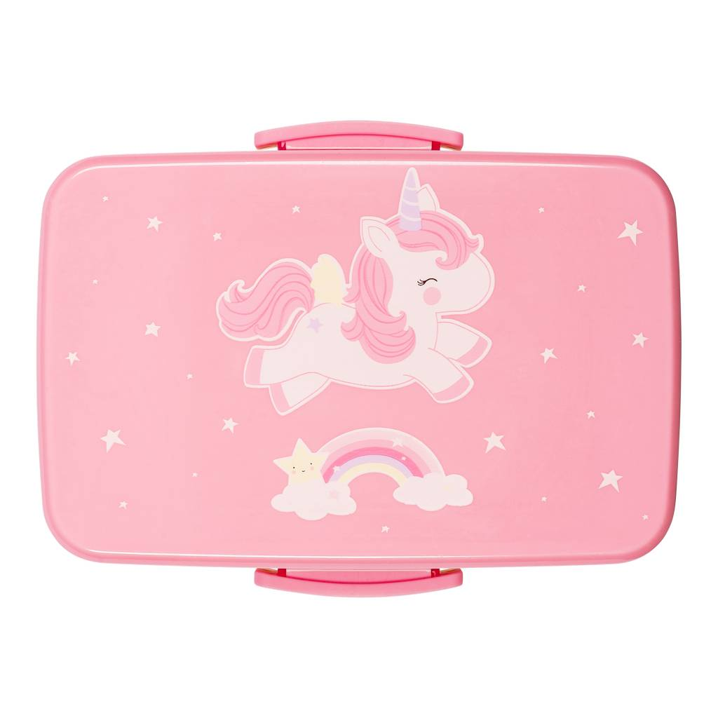 BAMBINISTA - A LITTLE LOVELY COMPANY - Tablewear - Lunch Box Unicorn