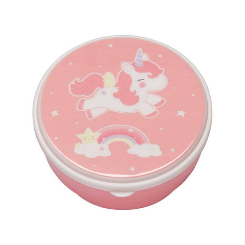 BAMBINISTA - A LITTLE LOVELY COMPANY - Tablewear - Snack Box Set of 4 Unicorn