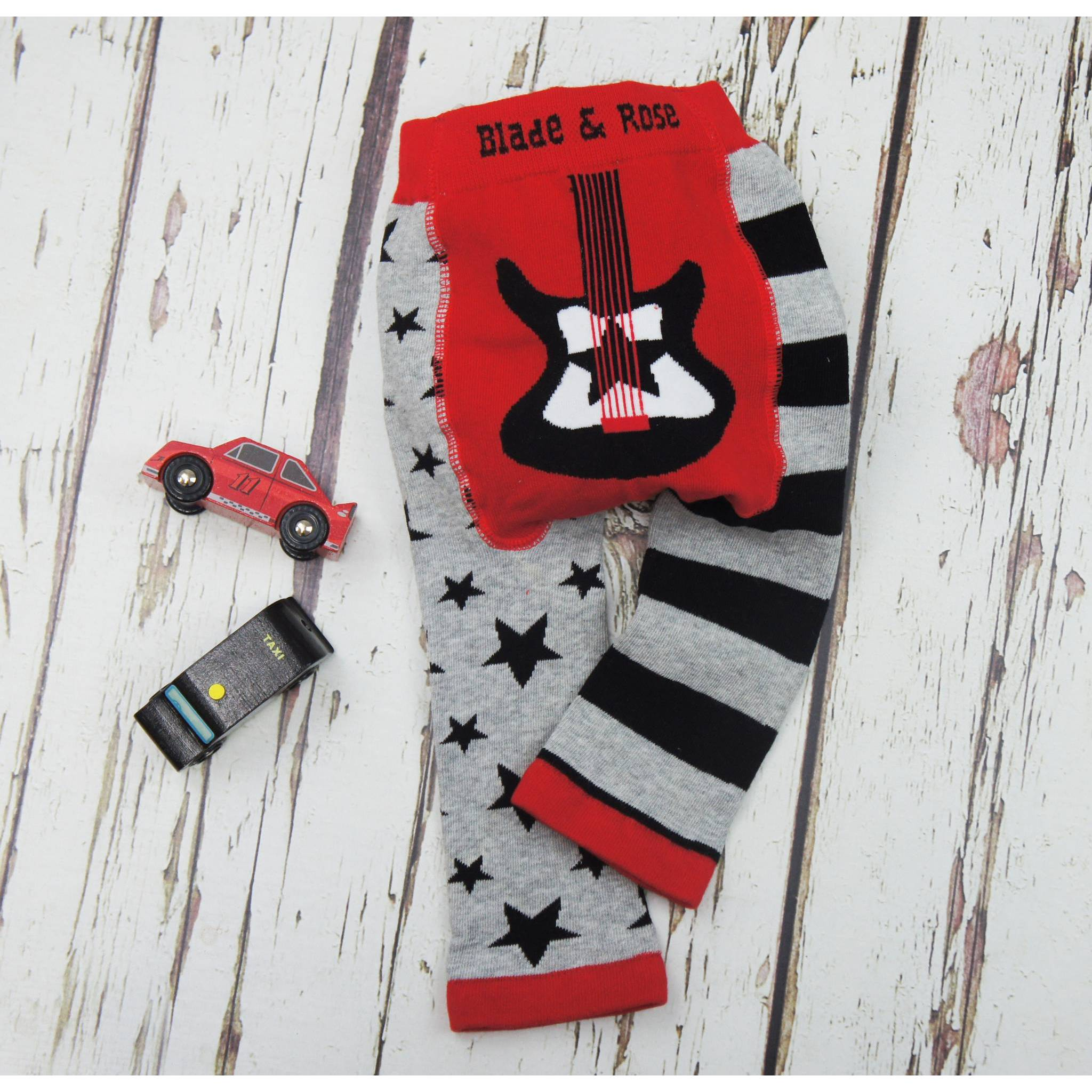 BAMBINISTA - BLADE & ROSE - Leggings - Leggings Guitar